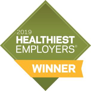 Healthiest Employers Award 2019