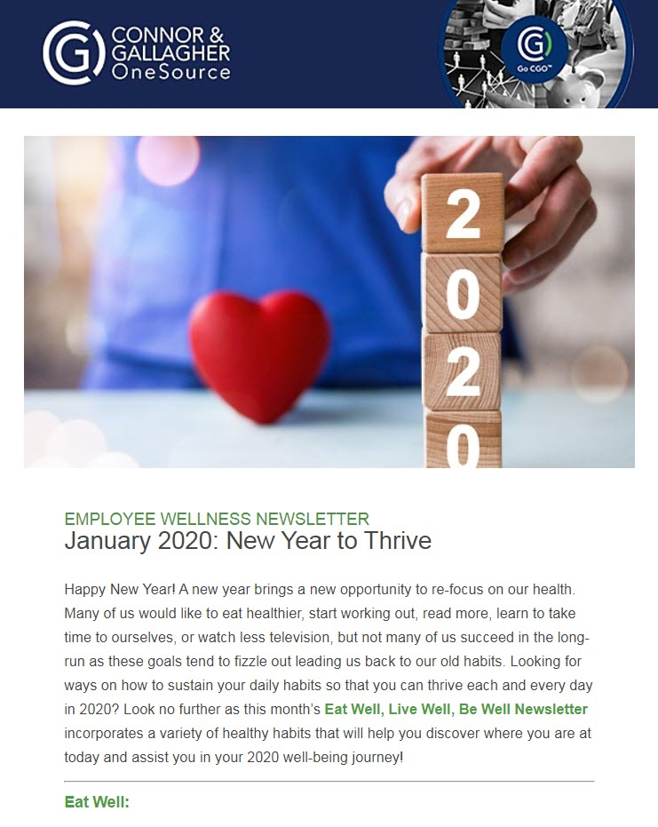 New Year to Thrive