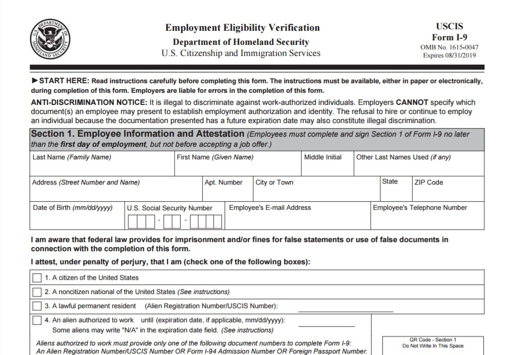form i-9 employment eligibility verification  Employers Must Use New Form I-12